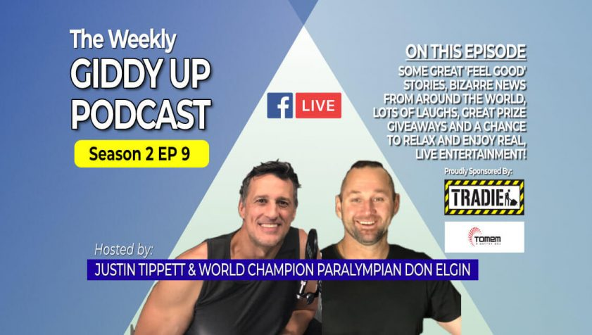 S2E9 GiddyUp Podcast with Don Elgin and Justin Tippett