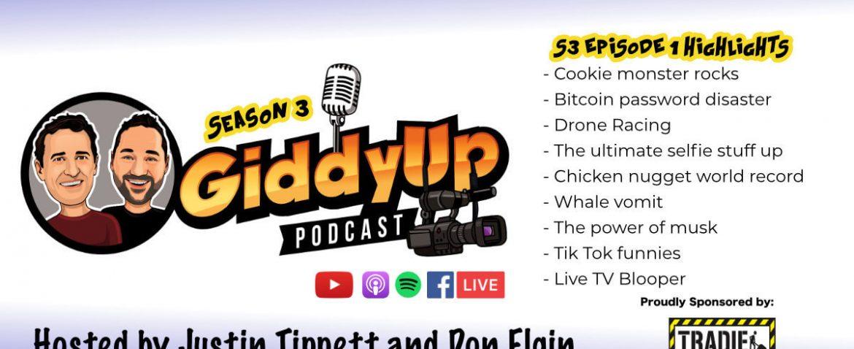 GiddyUp Podcast S3E1