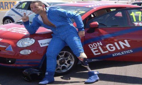 Don Elgin at the Melbourne Celebrity Grand Prix