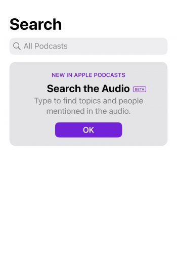Step 3 of reviewing a podcast on iTunes